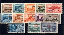 Maroc Poste Aérienne YT N° 22/31 Et 40/42 Neufs ** MNH. TB. A Saisir! - Maroc (1891-1956)