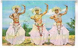 CEYLON  SRI LANKA   DANSEURS  TBE     T77 - Sri Lanka (Ceylon)