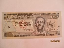 Ethiopie: 1 Birr - Neuf - Ethiopie