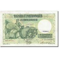Billet, Belgique, 50 Francs-10 Belgas, 1933-1935, 1944-11-20, KM:106, TTB - 50 Francos-10 Belgas