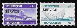 Bangladesh Service N°11A/11B - Neufs ** Sans Charnière - TB - Bangladesh