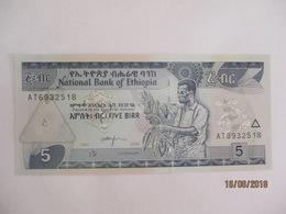 Ethiopie: 5 Birr - Neuf - Ethiopie