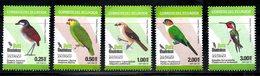 ECUADOR, 2015, BIRDS, 5v MNH** - Birds