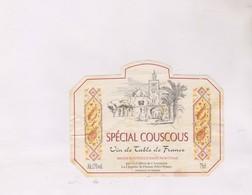 ETIQUETTE De  VIN DE DPT 49, SPËCIAL COUSCOUS - Red Wines