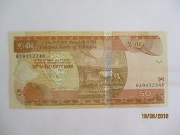 Ethiopie: 50 Birr - Neuf - Ethiopie