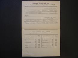 Vieux Papiers SNCF CHEMIN DE FER Militaria WWII WW2 Soldat Army HORAIRES CONVOIS 1942 - Documents