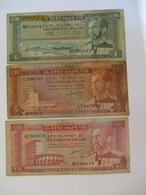 Ethiopie: 1, 5 & 10 Ethiopian Dollars - Ethiopie