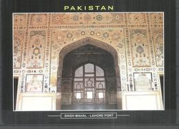 PAKISTAN POSTCARD, VIEW CARD SHISH MAHAL LAHORE FORT - Pakistan