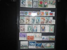 France , Collection 35 Timbres Obliteres De 1962 Que Des Obliterations D Epoque - France