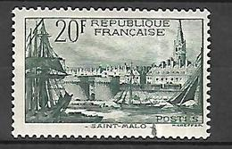 France  Port De Saint Malo 1938    Cat Yt N°  394  N* MLH - France