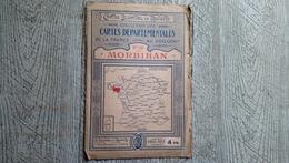 Morbihan Carte Départementale N°56 Blondel Et Rougery - Roadmaps