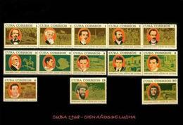 CUBA/KUBA 1968  CENTENARIO DE LA GUERRA DE INDEPENDENCIA - CHE GUEVARA  MNH - Cuba