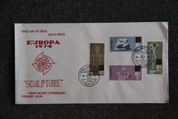FDC - EUROPA 1974 - MALTE - Malta