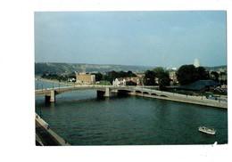 Cpm - Belgique - HUY - Pont De L'Europe Piscine Couverte - Centrale Nucléaire De Tihange - - Huy