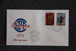 FDC - EUROPA 1974 - REYJAVIK - FDC