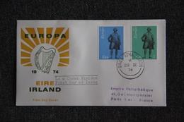 FDC - EUROPA 1974 - EIRE - FDC