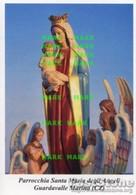 Guardavalle Marina (Catanzaro) - Santino Depliant SANTA MARIA DEGLI ANGELI - PERFETTO P68 - Religione & Esoterismo