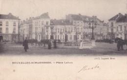 Schaerbeek Place Lehon Circulée En 1903 - Schaerbeek - Schaarbeek