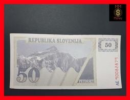 Slovenia  50 Tolarjev  1990  P. 5 VF - Slovénie