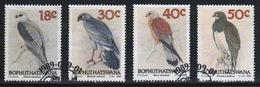 Bophuthatswana Set Of Stamps Celebrating Birds Of Prey  From 1989. - Bophuthatswana