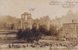 Photo Carte De Landelies Abbaye D'Aulne Bombardée Sous Le Règne De Napoléon Ier - Lobbes