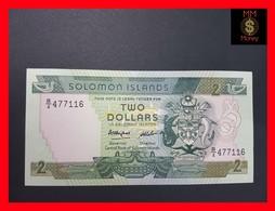 Solomon Islands  2 $ 1986  P. 13 UNC - Isola Salomon