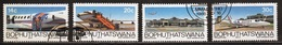 Bophuthatswana Set Of Stamps Celebrating B.O.P. Airways  From 1986. - Bophuthatswana