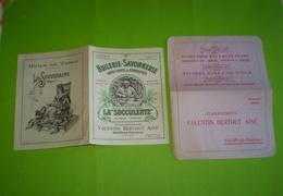 Valentin Bertout à Salon De Provence:huile, Savon, Café , Tarif N° 800, Janvier 1930 & Bon De Commande; Huile D'olive - 1900 – 1949
