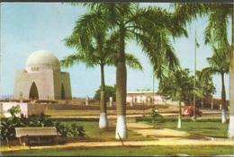 TOMB OF QUAID-I-AZAM KARACHI PAKISTAN, PC, Circulated 1960 - Pakistan