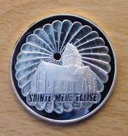 PIECE DE 100 FRANCS EN ARGENT SAINTE MERE L EGLISE 1994 QUALITE BE - Commémoratives