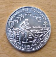 PIECE DE 1 FRANC EN ARGENT DEBARQUEMENT 1994 QUALITE BE - Commémoratives