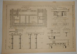Plan De L'Hôtel De Ville De Great Yarmouth. Angleterre. 1891. - Opere Pubbliche
