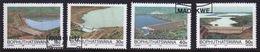 Bophuthatswana Set Of Stamps Celebrating Dams  From 1988. - Bophuthatswana