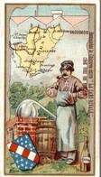 CHROMO  CHICOREE LA SANS RIVALE A. HAQUET LILLE  CHARENTE - Trade Cards