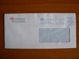 EMA Sur Enveloppe  HD 105173 LE PLESSIS ROBINSON  Avec Illustration  TOKHEIM - Postmark Collection (Covers)