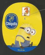 # PINEAPPLE CHIQUITA DESPICABLE ME 3 (Minions, Type 2) Fruit Tag Balise Etiqueta Anhanger Costa Rica Ananas Pina - Fruits & Vegetables