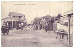Cpa Valras La Plage - Rue Française - France