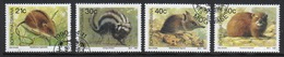 Bophuthatswana Set Of Stamps Celebrating Small Mammals From 1990. - Bophuthatswana