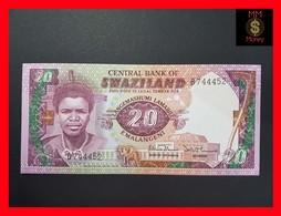Swaziland  20 Emalangeni 1986  P. 12 UNC - Swaziland