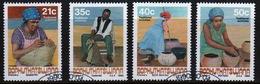 Bophuthatswana Set Of Stamps Celebrating Traditional Crafts From 1990. - Bophuthatswana