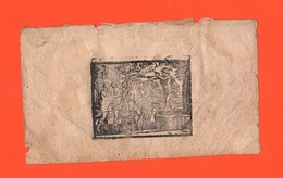 Mercurio Mercurius Hermes Mercury Mercure Quecksilber Piccola Stampa Torchio XVIII° Secolo - Altre Collezioni