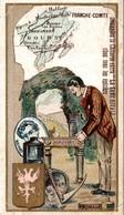 CHROMO  CHICOREE LA SANS RIVALE A. HAQUET LILLE  DOUBS - Trade Cards