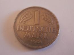 1 MARK 1958 J - [ 7] 1949-… : RFA - Rép. Féd. D'Allemagne