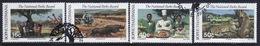 Bophuthatswana Set Of Stamps Celebrating National Parks Board From 1988. - Bophuthatswana