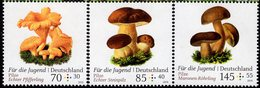 Germany - 2018 - Mushrooms - For Youth - Mint Stamp Set With Surcharge - Ongebruikt