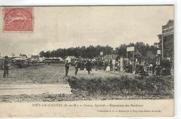 1 Cpa Jouy Le Châtel - Comice Agricole - Exposition Des Machines - France