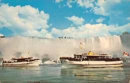 "0182 "" NIAGARA - MAID OF THE MIST - ""  - CART. ORIG. SPED. - Niagara Falls"
