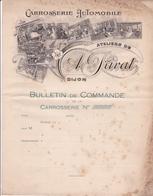 21-A.Privat Carrosserie Automobile Dijon  (Côte-d'Or) 1899 - Cars