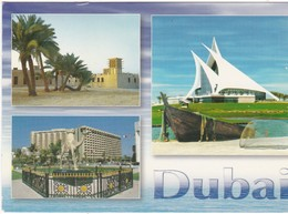 Lot De 2 Cartes Postales DUBAI Diverses Vues - Dubai