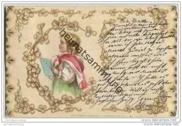 Blondes Mädchen Mit Heft - Children's Drawings